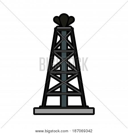 oil extraction icon image vector illustration design