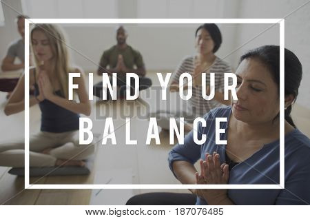 Find Your Balance Life Attitude Motivation