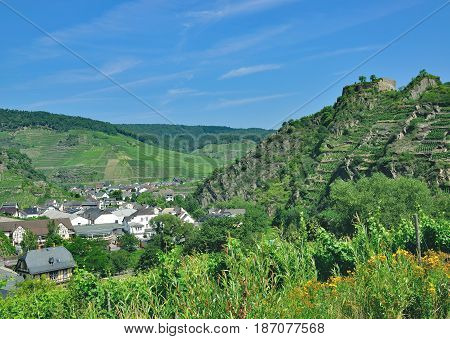 Wine Village of Mayschoss in Ahr Valley,Rhineland-Palatinate,Germany