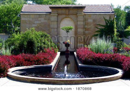 Pool At Botanical Gardens