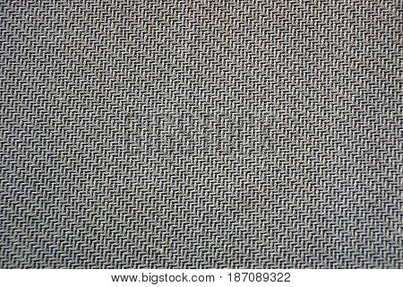 Gray fabric texture of a piece of veil