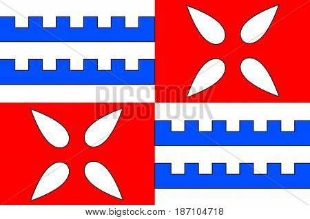 Flag of Muret is a commune in the Haute-Garonne department of which it is a subprefecture in the Occitanie region of southwestern France