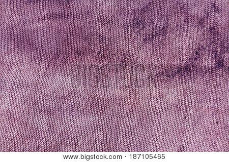 Dirty Violet Textile Rag Texture.