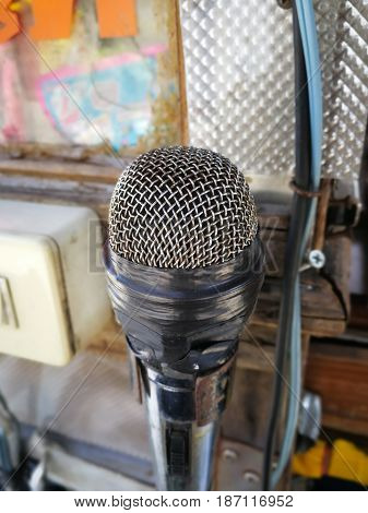 The old microphone is not working in Technology background