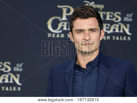 Orlando Bloom at the U.S. premiere of 'Pirates Of The Caribbean: Dead Men Tell No Tales' held at the Dolby Theatre in Hollywood, USA on May 18, 2017.