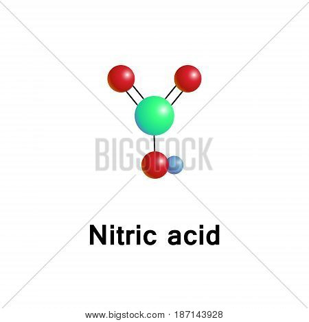 Nitric Acid Aqua Vector Photo Free Trial Bigstock