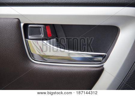 Car door handle sub-assembly, door inside car, auto part