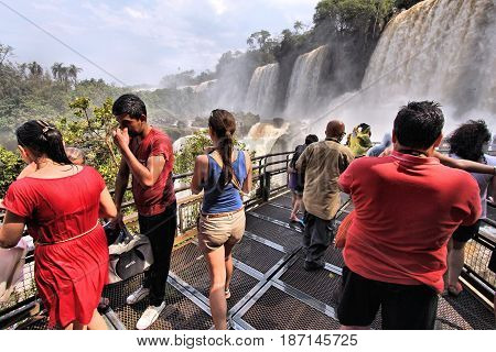 Tourists In Argentina