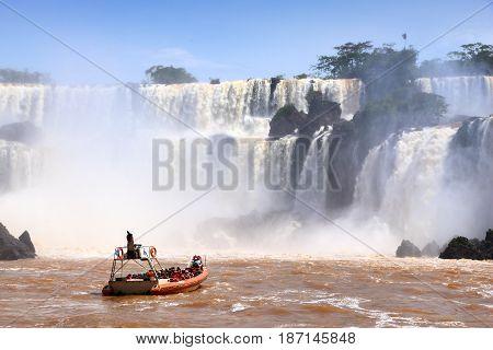 Iguazu Falls Boat