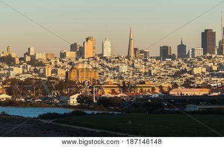 View Of San Francisco California Usa
