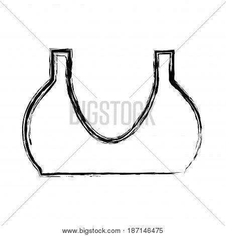 women's bra icon over white background. vector illustration