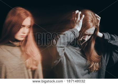 Woman Having Mood Swing