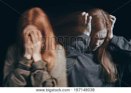 Woman Feeling Emotional Pain