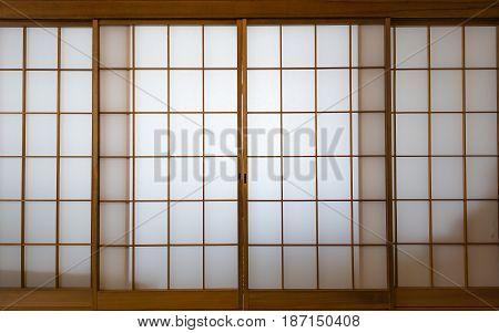 Shoji , Traditional Japanese Door