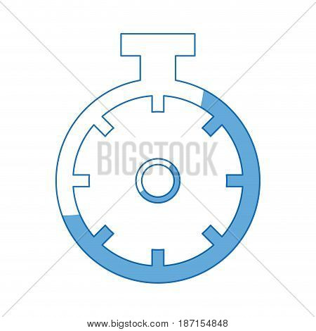 chronometer sport watch timer competition vector illustration