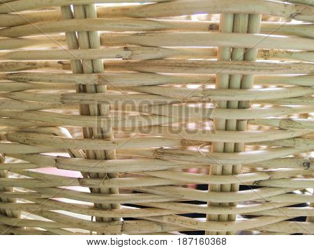 Rattan basket is a natural product made by handmade