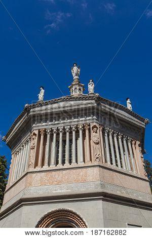 Detail From Battistero Of Santa Maria Maggiore In Bergamo