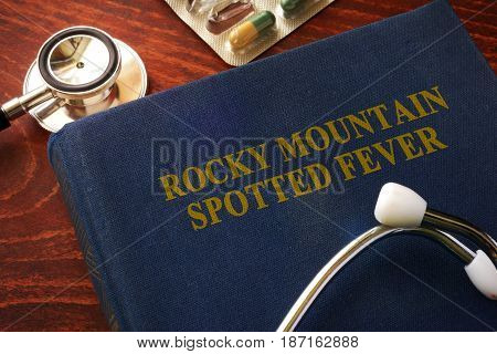 Book with title Rocky Mountain spotted fever (RMSF).
