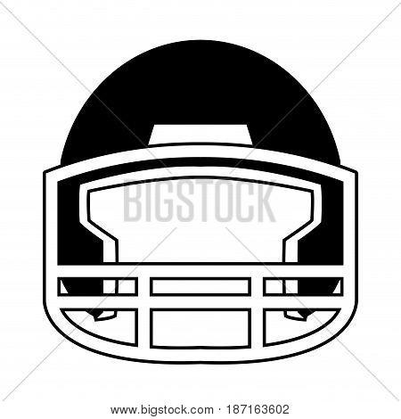 helmet football equipment sport image vector illustration