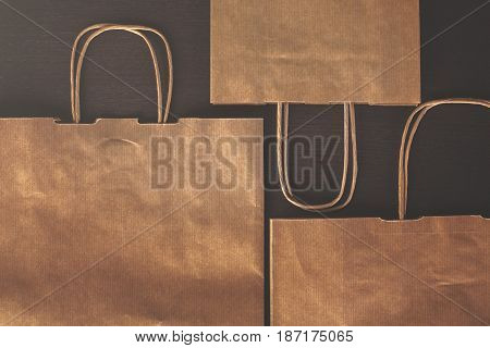 Brown Shopping Bags Top