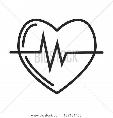 Cardio Pulse Vector Icon