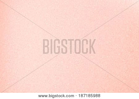 Close up of styrofoam light pink texture background