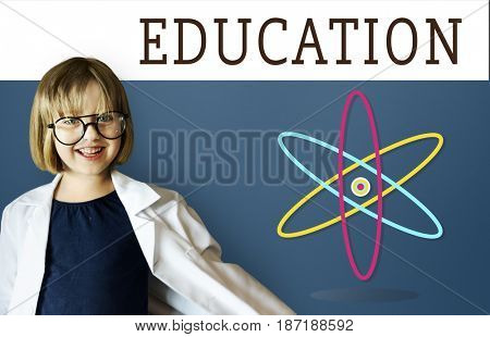 Atomic Molecule Life Science Study Experiment Graphic