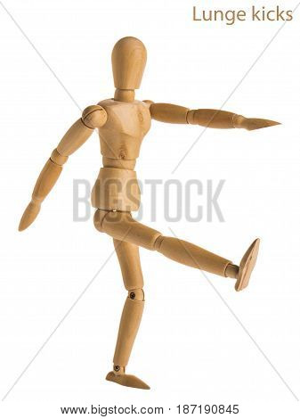Lunge Kicks Pose