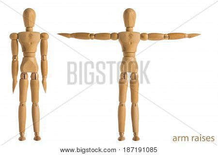 Arm Raises Exercise Pose
