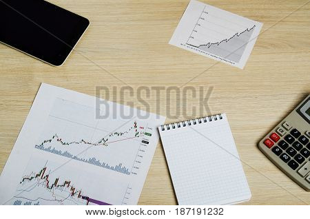 earnings from trading on the stock exchange .