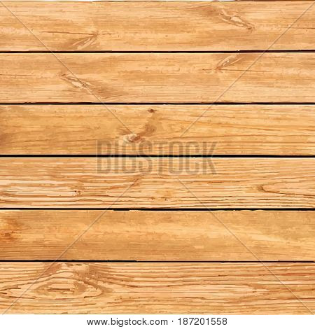 Vector wood texture. background old panels. Grunge retro vintage wooden texture, vector background. Horizontal stripes.