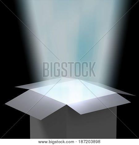 Magic Box With Ray Light