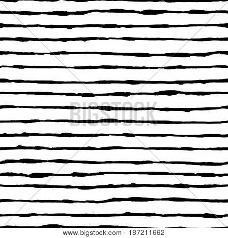 Hand Drawn Seamless Pattern.