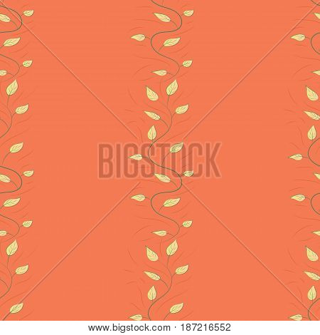 Abstract vector seamless pattern leaf design in blue colors. Floral seamless pattern with watercolor effect. Textile print for bed linen jacket package design fabric and fashion concepts.