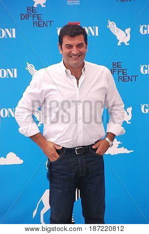 Giffoni Valle Piana Sa Italy - July 24 2014 : Max Giusti at Giffoni Film Festival 2014 - on July 24 2014 in Giffoni Valle Piana Italy