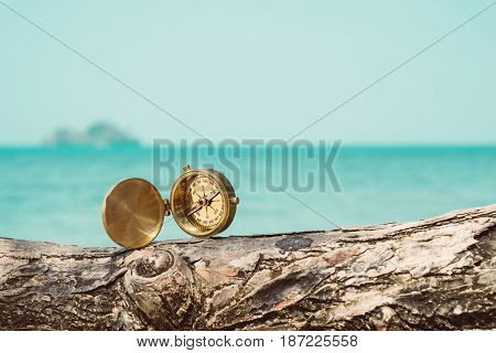 compass at the beach find some good day
