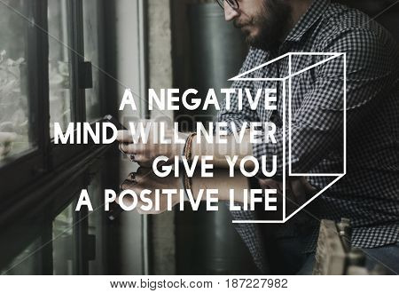 Life Motivation Positivity Attitude Possible Graphic Words