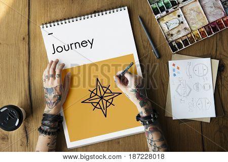 Journey Guide Destination Location Direction