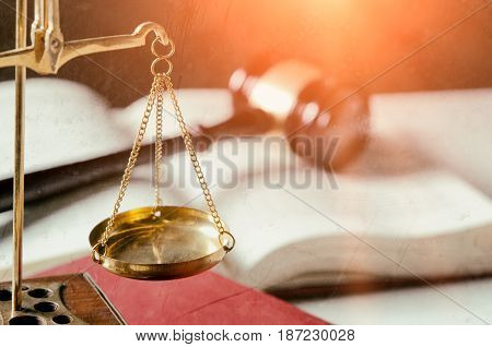 Weight Scales In Court Room Library