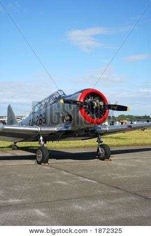 British Harvard Aircraft