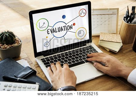 Evaluation Assessment Information Illustration Graphics Concept