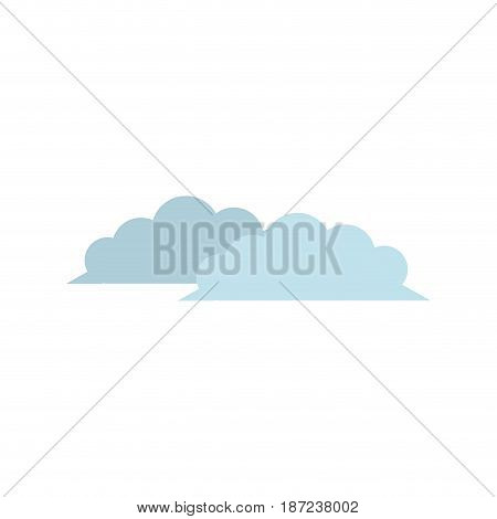 cloud nature weather climate environment vector illustration