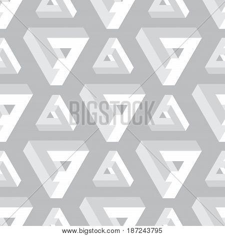 Seamless geometric imagination pattern, vector illustration for your design, EPS10