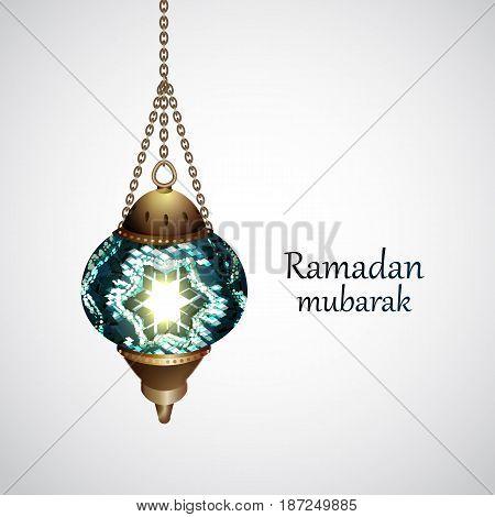 Ramadan Kareem beautiful greeting card Ramadan kareem islamic background, Eid Mubarak .