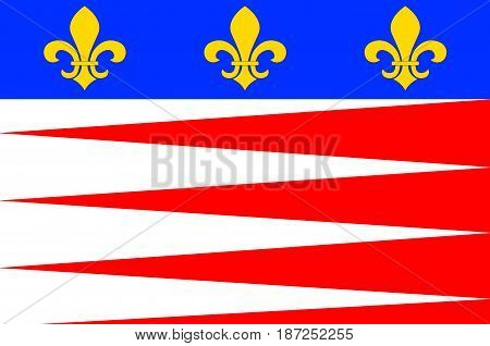 Flag of Castres is a commune and arrondissement capital in the Tarn department and Occitanie region in southern France