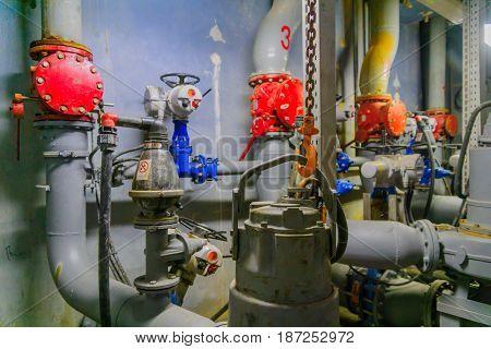 Wastewater Pumping Station, Tel-aviv