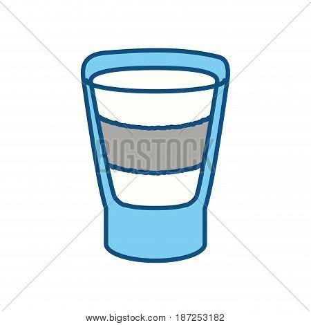 Delicious cocktail drink icon vector illustration graphic design