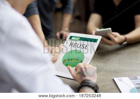 Reuse Environment Ecology Nature Concept