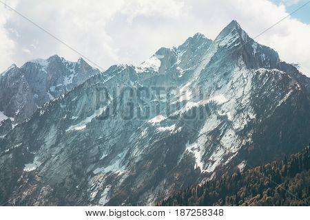 Rocky Mountains range peak Landscape Summer Travel wild nature scenic