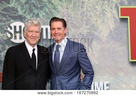LOS ANGELES - MAY 19:  David Lynch, Kyle MacLachlan at the
